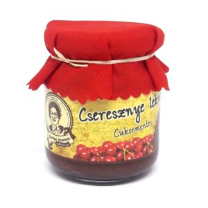 Cseresznye lekvár - cukormentes