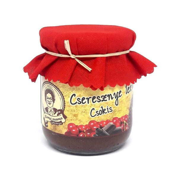 Cseresznye lekvár - csokis