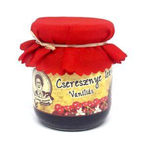 Cseresznye lekvár - vaníliás