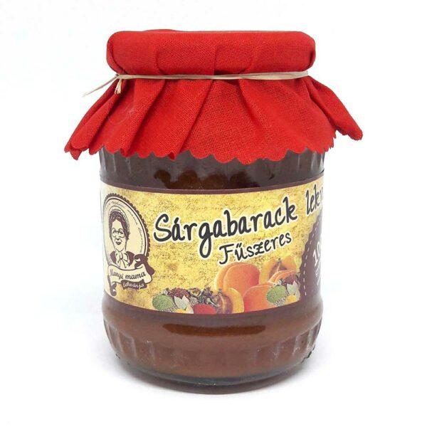 Sárgabarack lekvár - fűszeres