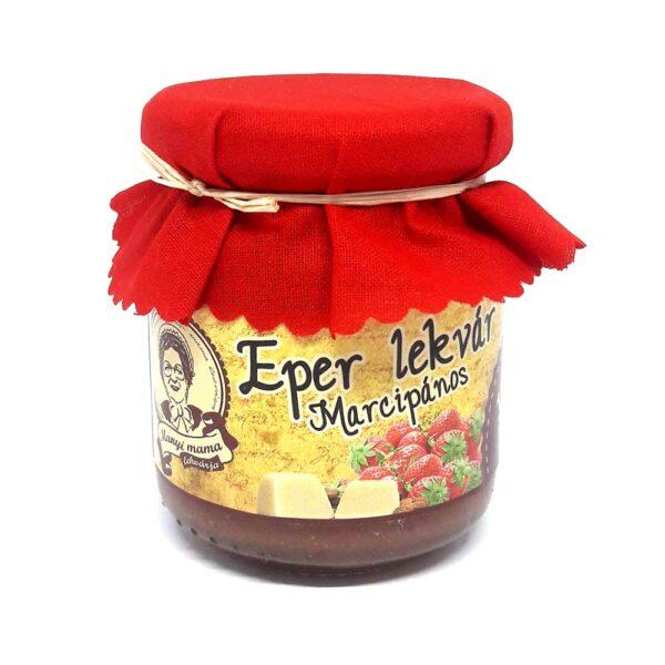 Eper lekvár - marcipános